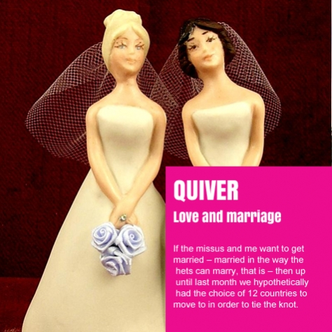 Quiver Love and Marriage